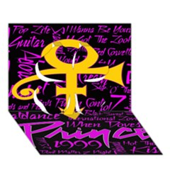 Prince Poster Clover 3d Greeting Card (7x5)