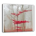 Magic forest in red and white Canvas 24  x 20  View1