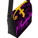 Prince Poster Flap Messenger Bag (L)  View2