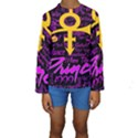 Prince Poster Kids  Long Sleeve Swimwear View1