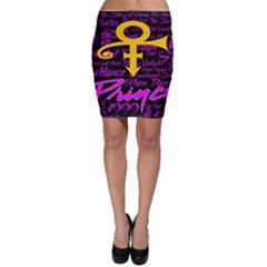 Prince Poster Bodycon Skirt