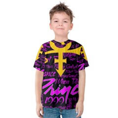 Prince Poster Kids  Cotton Tee