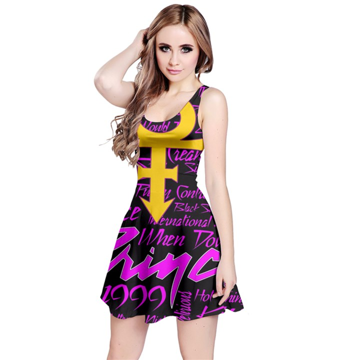 Prince Poster Reversible Sleeveless Dress