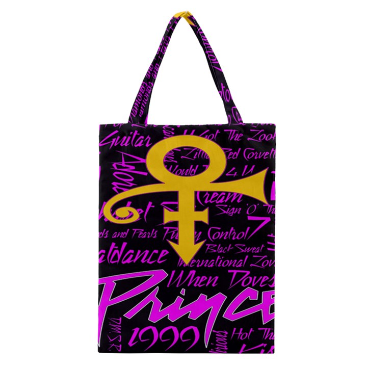 Prince Poster Classic Tote Bag
