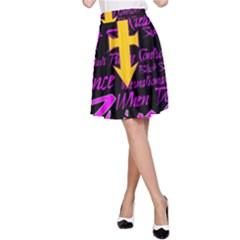 Prince Poster A Line Skirt