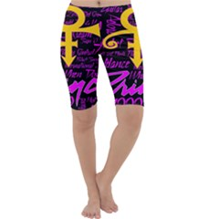 Prince Poster Cropped Leggings