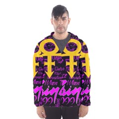 Prince Poster Hooded Wind Breaker (Men)