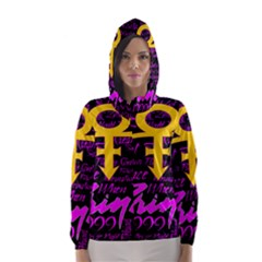 Prince Poster Hooded Wind Breaker (Women)