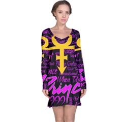 Prince Poster Long Sleeve Nightdress