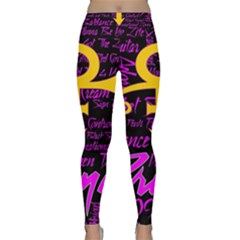 Prince Poster Yoga Leggings