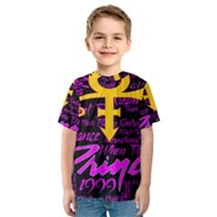 Prince Poster Kids  Sport Mesh Tee