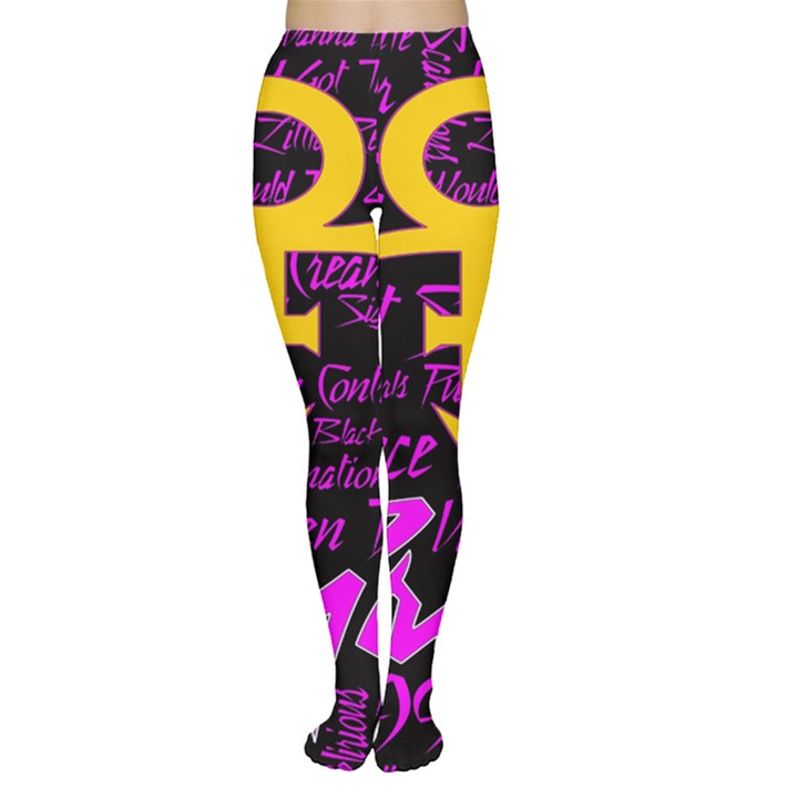 Prince Poster Women s Tights
