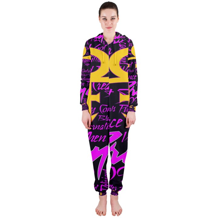 Prince Poster Hooded Jumpsuit (Ladies)