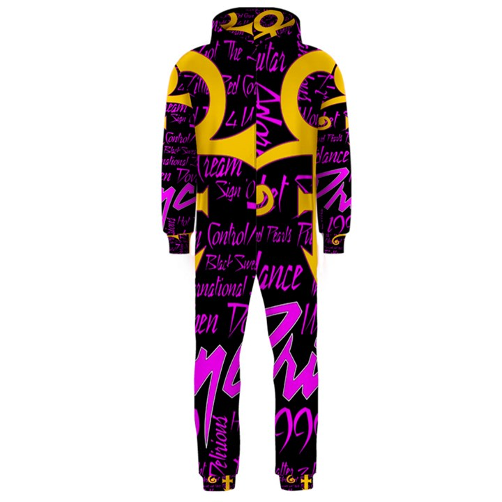 Prince Poster Hooded Jumpsuit (Men)