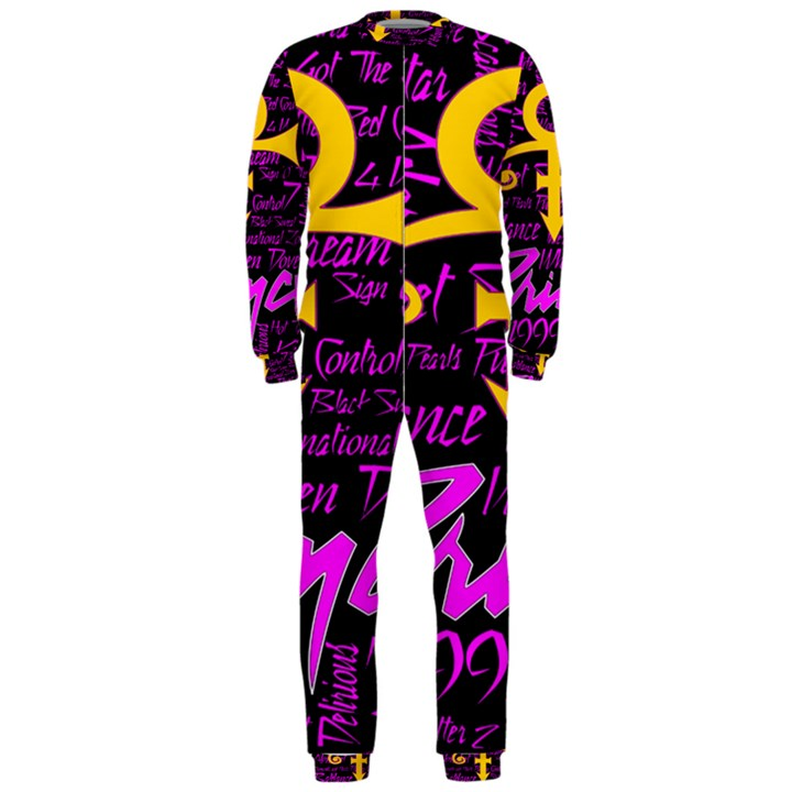 Prince Poster OnePiece Jumpsuit (Men)