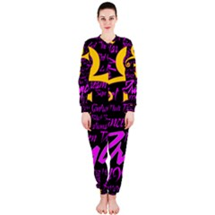 Prince Poster Onepiece Jumpsuit (ladies)