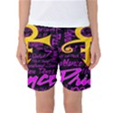 Prince Poster Women s Basketball Shorts View1