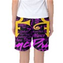 Prince Poster Women s Basketball Shorts View2