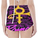 Prince Poster High-Waisted Bikini Bottoms View2