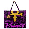 Prince Poster Zipper Large Tote Bag View1