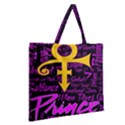 Prince Poster Zipper Large Tote Bag View2