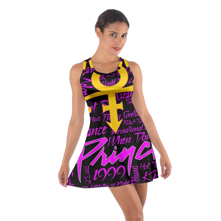 Prince Poster Cotton Racerback Dress