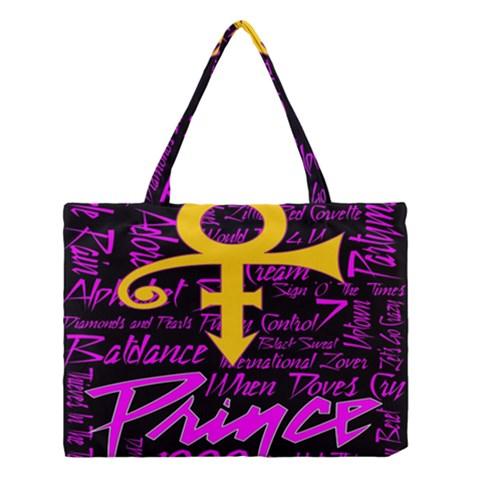 Prince Poster Medium Tote Bag