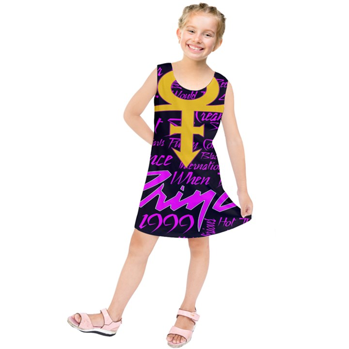 Prince Poster Kids  Tunic Dress