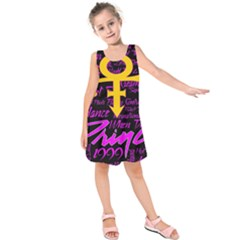 Prince Poster Kids  Sleeveless Dress
