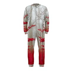 Magic Forest In Red And White Onepiece Jumpsuit (kids)