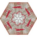 Magic Forest In Red And White Mini Folding Umbrellas View1