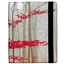 Magic Forest In Red And White Kindle Fire (1st Gen) Flip Case View2