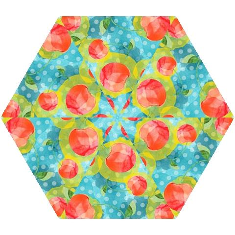 Red Cherries Mini Folding Umbrellas
