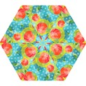 Red Cherries Mini Folding Umbrellas View1