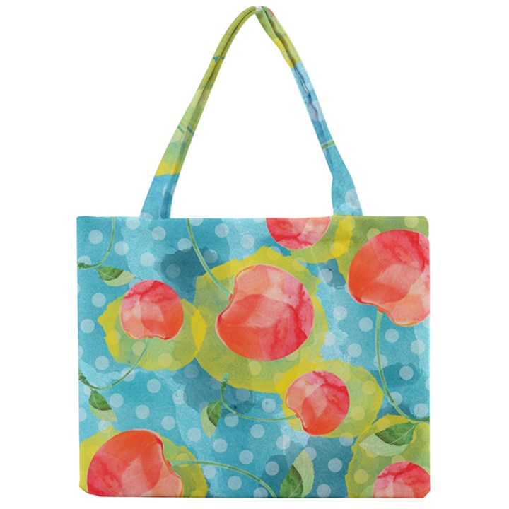 Red Cherries Mini Tote Bag