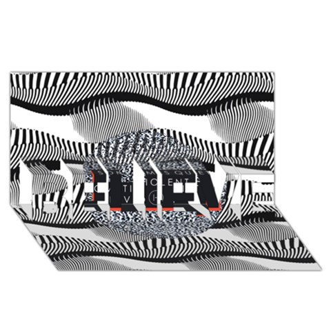Sometimes Quiet Is Violent Twenty One Pilots The Meaning Of Blurryface Album BELIEVE 3D Greeting Card (8x4)