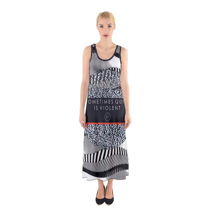 Sometimes Quiet Is Violent Twenty One Pilots The Meaning Of Blurryface Album Sleeveless Maxi Dress