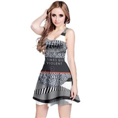 Sometimes Quiet Is Violent Twenty One Pilots The Meaning Of Blurryface Album Reversible Sleeveless Dress