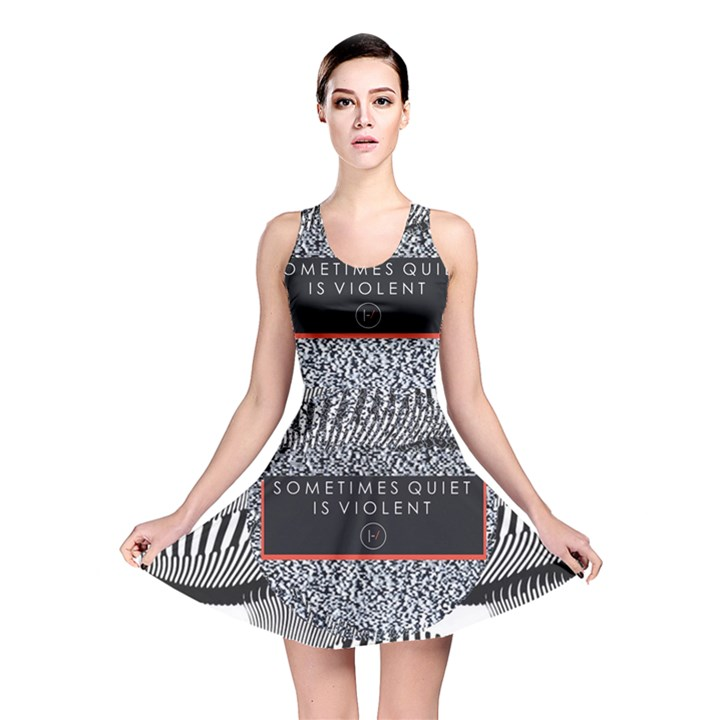 Sometimes Quiet Is Violent Twenty One Pilots The Meaning Of Blurryface Album Reversible Skater Dress