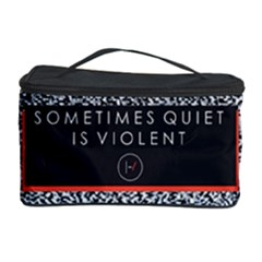 Sometimes Quiet Is Violent Twenty One Pilots The Meaning Of Blurryface Album Cosmetic Storage Case