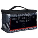 Sometimes Quiet Is Violent Twenty One Pilots The Meaning Of Blurryface Album Cosmetic Storage Case View2