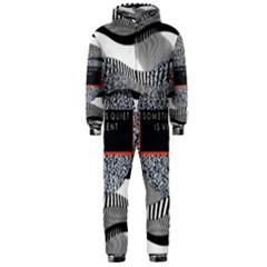 Sometimes Quiet Is Violent Twenty One Pilots The Meaning Of Blurryface Album Hooded Jumpsuit (Men)