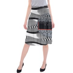 Sometimes Quiet Is Violent Twenty One Pilots The Meaning Of Blurryface Album Midi Beach Skirt