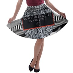 Sometimes Quiet Is Violent Twenty One Pilots The Meaning Of Blurryface Album A Line Skater Skirt