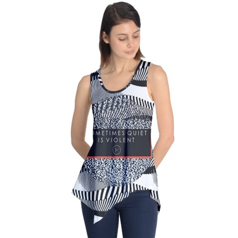 Sometimes Quiet Is Violent Twenty One Pilots The Meaning Of Blurryface Album Sleeveless Tunic