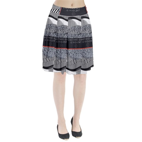 Sometimes Quiet Is Violent Twenty One Pilots The Meaning Of Blurryface Album Pleated Skirt