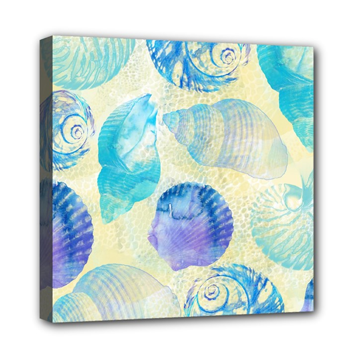 Seashells Mini Canvas 8  x 8