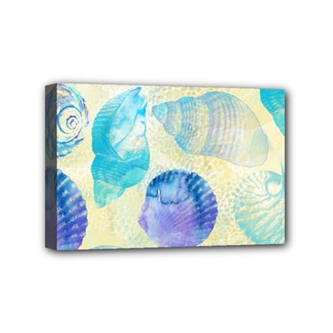 Seashells Mini Canvas 6  x 4