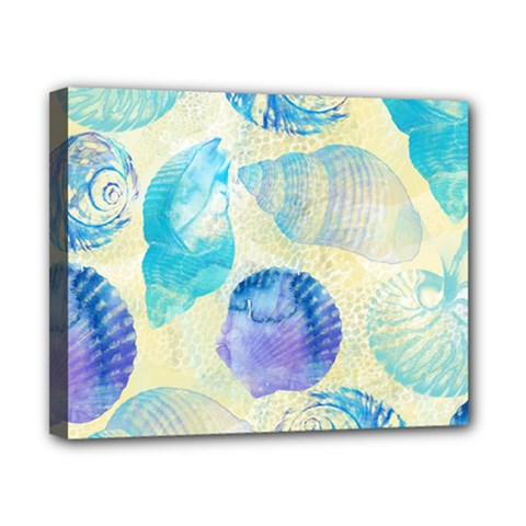 Seashells Canvas 10  x 8