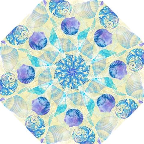 Seashells Straight Umbrellas